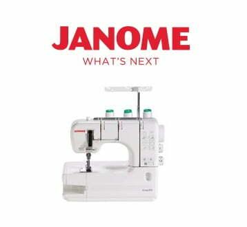Janome Sergers & Overlock Machines