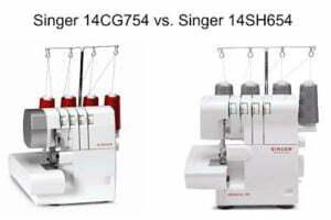 Singer 14CG754 Vs Singer 14SH654